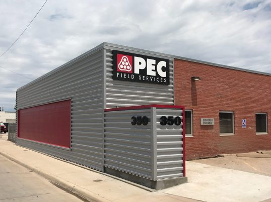 Pec Locations Field Services Exterior