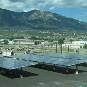 Capabilities ArchE Fort Carson Parking Canapies