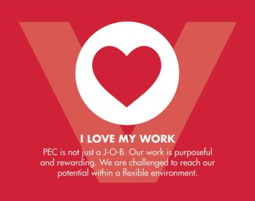 PEC Join Our Team Work Life Core Values SLIDE 1